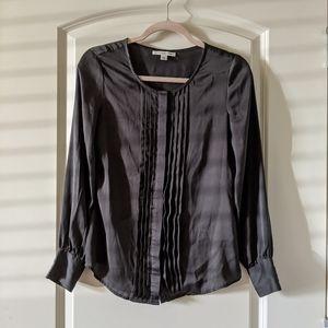 Button Down Satin Shirt
